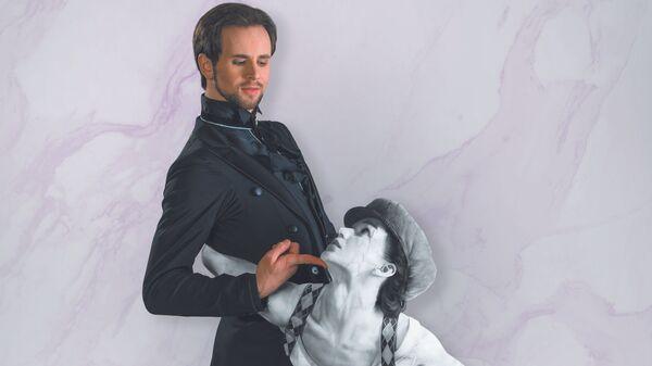 Сцена из балета Эффект Пигмалиона