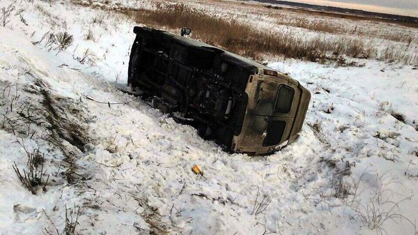 Последствия ДТП в Челябинской области. 20 января 2019