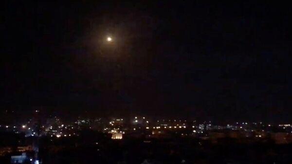 Авиаудар армии Израиля по Дамаску, Сирия. 21 января 2019