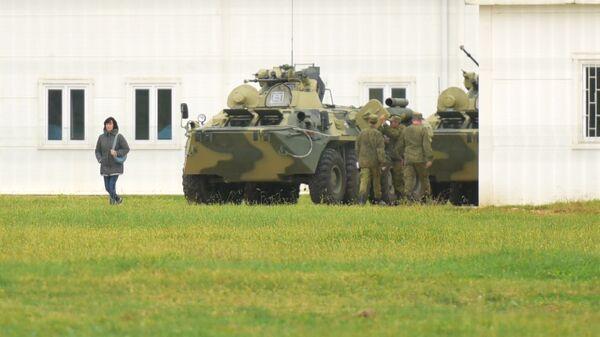 Российская военная база в Абхазии
