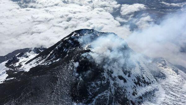 Лавовый купол вулкана Безымянный