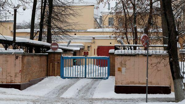 Следственый изолятор №2 Лефортово ФСИН России, где содержится гражданин Пол Уилан, обвиняемый в шпионаже