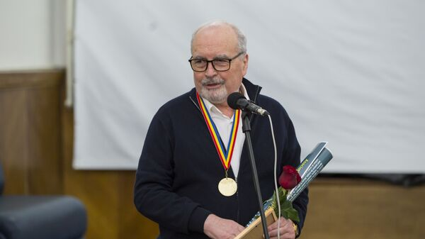 Руководитель Sputnik Молдова Владимир Новосадюк на церемонии вручения премии Человек года — 2018