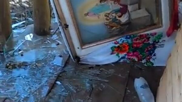 НаЖитомирщине вандалы разгромили часовню УПЦ