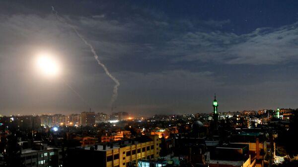 Средства противовоздушной обороны Сирии во время ударов Израиля по Дамаску