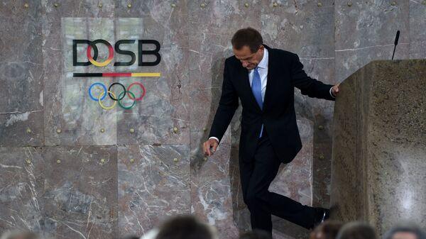 Президент Немецкого олимпийского спортивного союза (DOSB) Альфонс Хёрман
