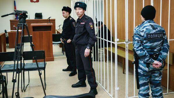 Павел Шаповалов на заседании Ханты-Мансийского районного суда.