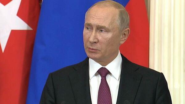 Американские военные находятся на территории Сирии незаконно – Путин