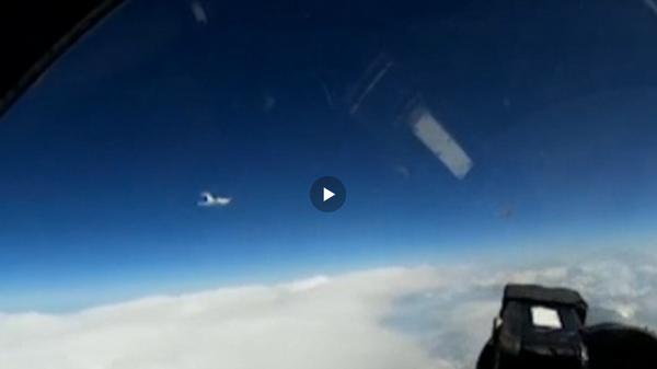 Опубликовано видео перехвата самолета-разведчика ВВС Швеции