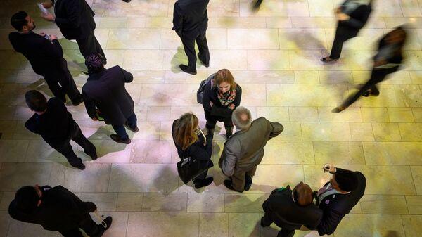 Участники собрания Всемирного экономического форума в Давосе