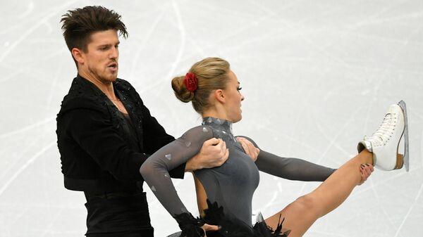 Фигурное катание. Чемпионат Европы. Танцы. Ритмический танец
