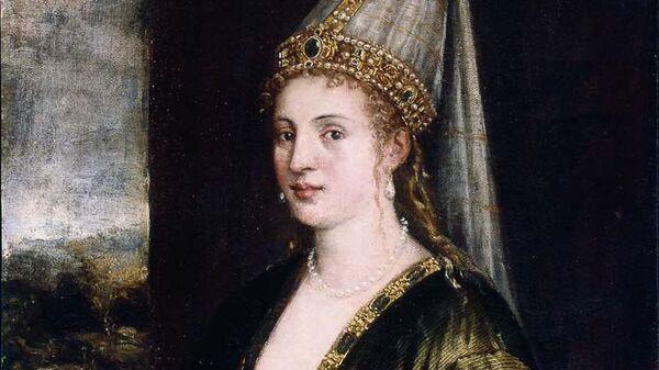 La Sultana Rossa. Тициан, 1550-е годы