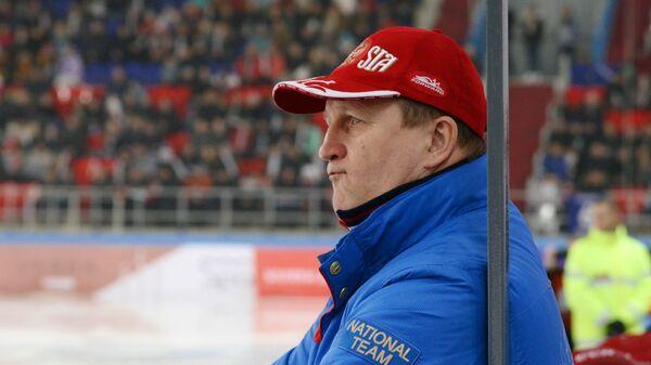 Главный тренер сборной России Михаил Юрьев