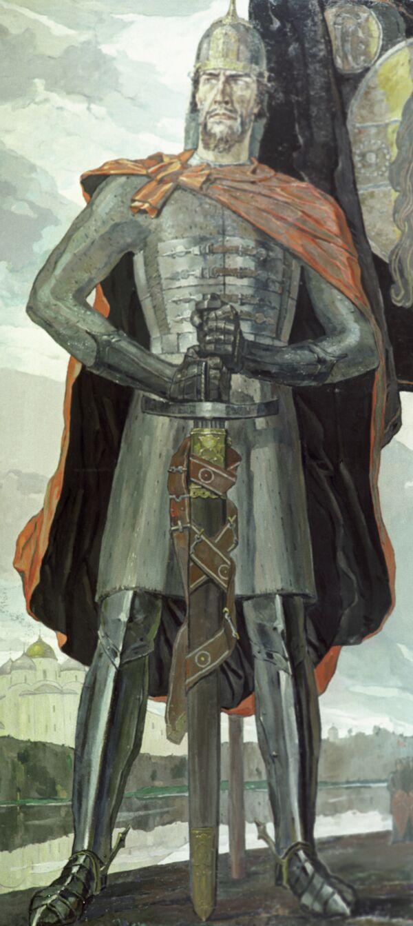 Картина Корина «Александр Невский»