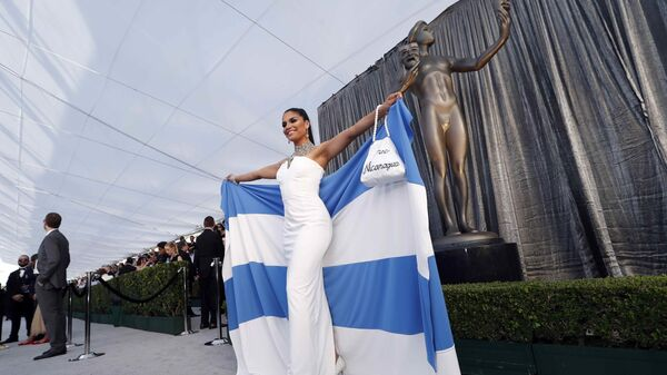 Шакира Баррера на церемонии вручении премии Гильдии киноактеров США