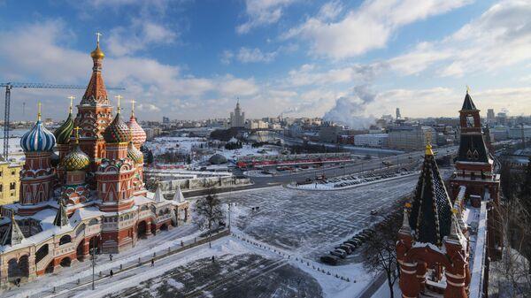 Покровский собор (храм Василия Блаженного) и Васильевский спуск