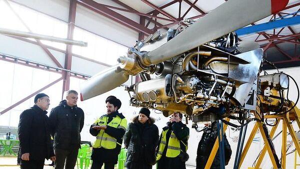 Испытания первого в мире алюминиевого авиадвигателя в Новосибирске