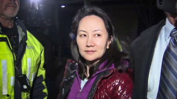 Финансовый директор компании Huawei Мэн Ваньчжоу