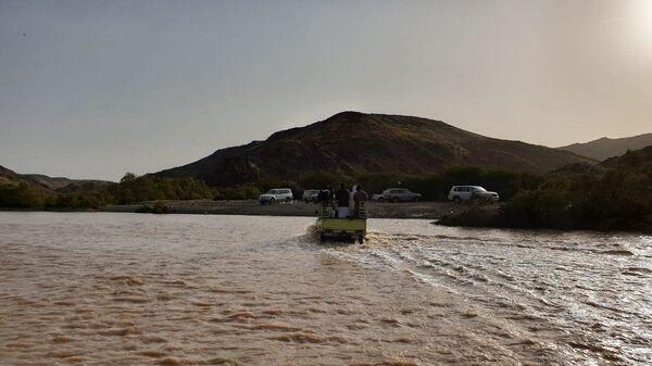 Последствия проливных дождей в Саудовской Аравии