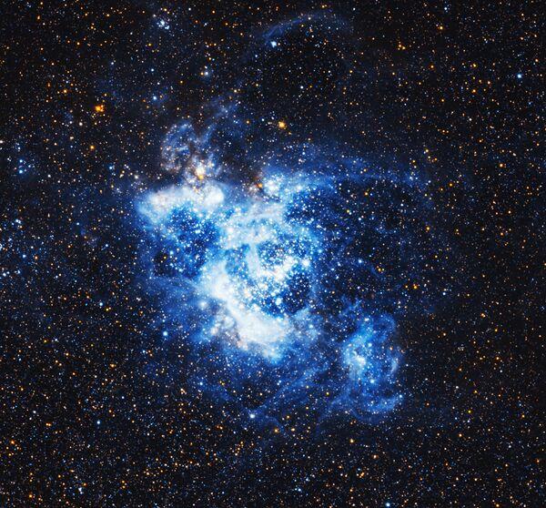 NGC 604 является областью H II в Галактике Треугольника