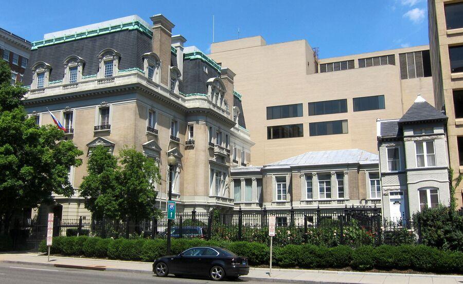 Резиденция Посла России в Вашингтоне. Здесь располагалось Посольство России и СССР до переезда в новое здание