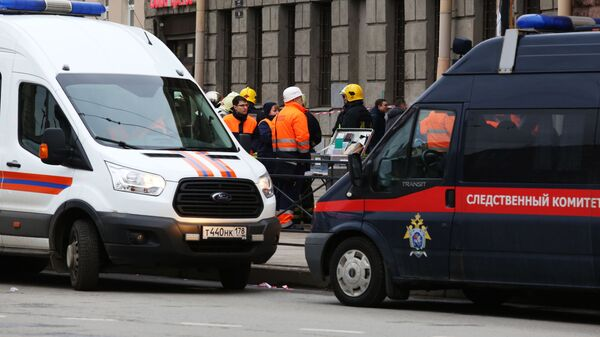 Станция метро Технологический институт в Санкт-Петербурге, где произошел взрыв