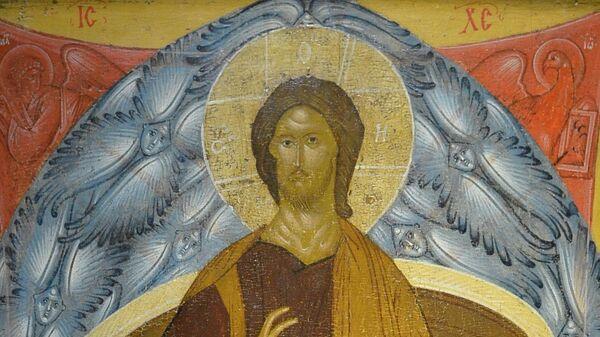 Спас Вседержитель или Пантократор, икона, Россия, XVI в.