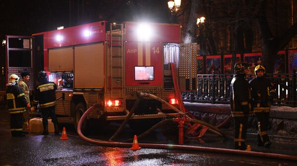 Пожар в жилом в центре Москвы: погибли четыре человека