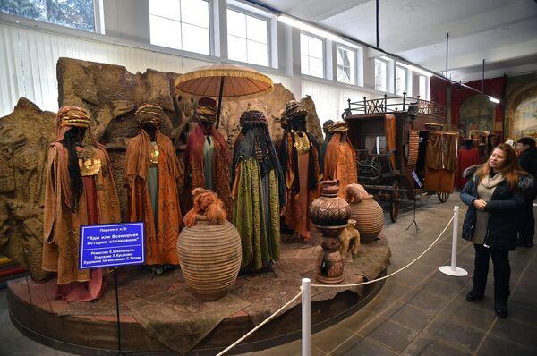 Экспозиция кинофильма Яды и всемирная история отравлений в музее киноконцерна Мосфильм