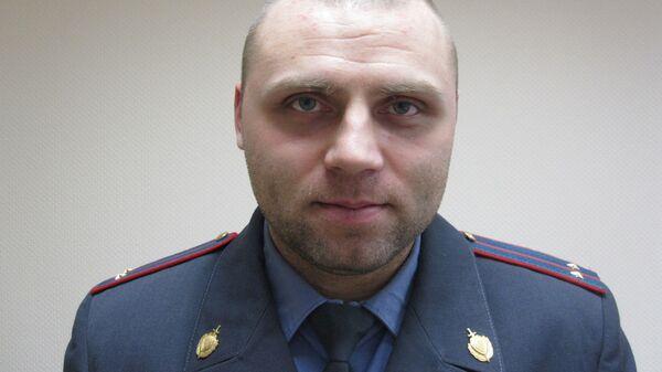 Экс-оперативник полицейского главка Евгений Попов