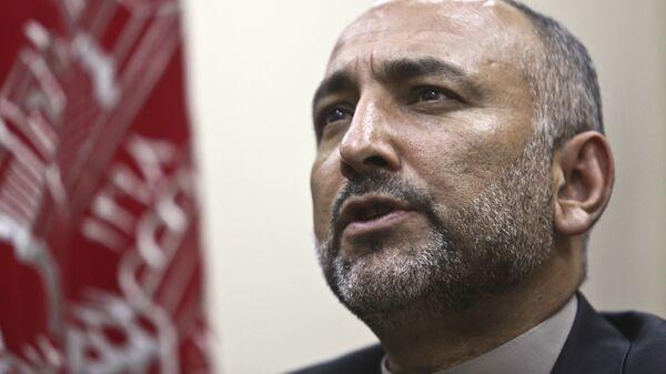 Бывший министр внутренних дел Афганистана Мохаммад Ханиф Атмар