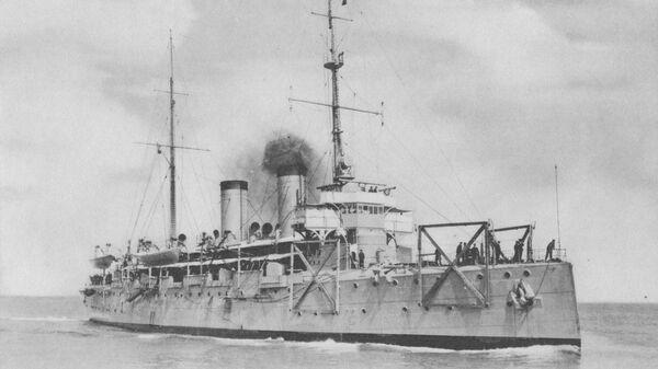 Немецкий крейсер Ниобе