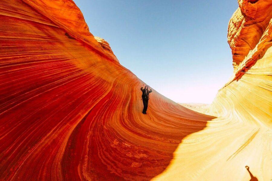 США, Юта,The Wave