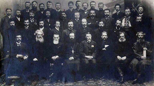 Сибирский священник Александр Иванович Бриллиантов в парламентской группе эсеров во II Государственной думе, 1907