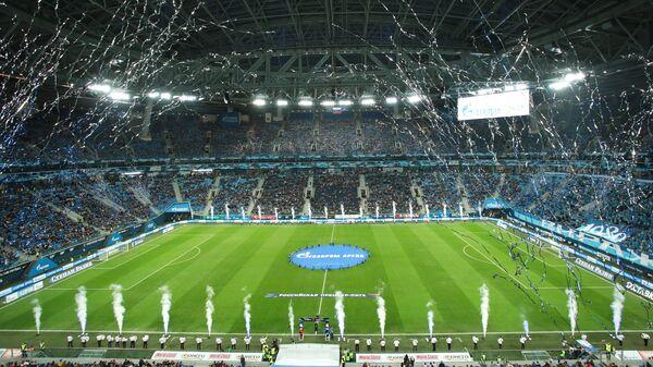 Стадион Газпром Арена в Петербурге