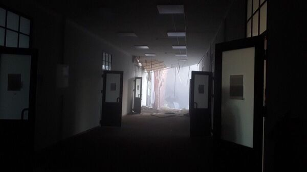 Обрушение перекрытий с пятого по второй этажи в пятиэтажном здании в Санкт-Петербурге. 16 февраля 2019