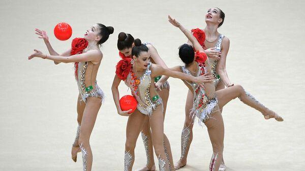Команда России по художественной гимнастике