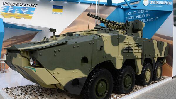 Украинский бронетранспортер БТР-4