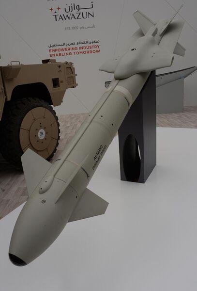 Авиабомба с комплектом наведения Al Tariq разработки Tаwаzun Dynаmics-Dеnel на международной выставке вооружений IDEX-2019 в Абу-Даби