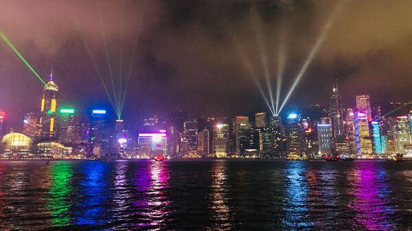Симфония огней в Гонконге