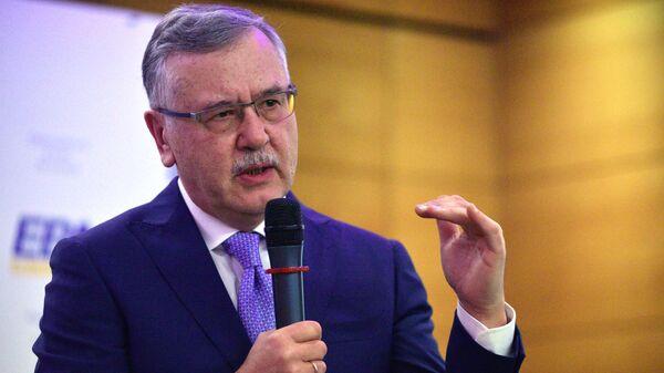 Кандидат на пост президента Украины, лидер политической партии Гражданская позиция Анатолий Гриценко