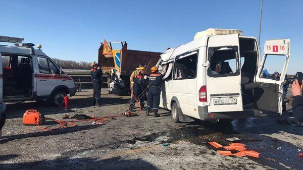 Авария спогибшими произошла вРостовской области 19февраля 2019г