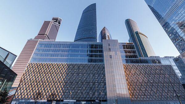 Бизнес-центр Око в Москва-Сити