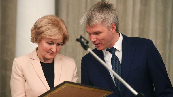 Ольга Голодец и Павел Колобков