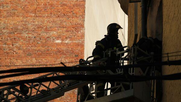 Пожар в пристройке консерватории им. Чайковского в Москве ликвидировали