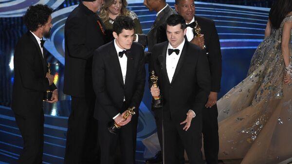 Вручение Оскара за лучший лучший анимационный фильм Человек-паук: Через вселенные