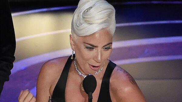 Леди Гага на церемонии вручения премии Оскар-2019