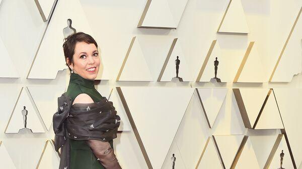 Оливия Колман на церемонии вручения премии Оскар-2019