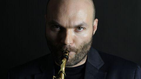 Джазовый саксофонист Сергей Головня