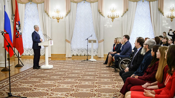 Мэр Москвы наградил активистов волонтерского движения столицы
